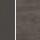 Aluminium anthrazit/HPL, Dekor Nitro, dunkelgrau