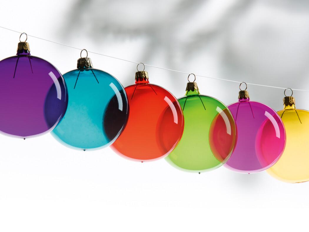Pendentifs arbres de Noël