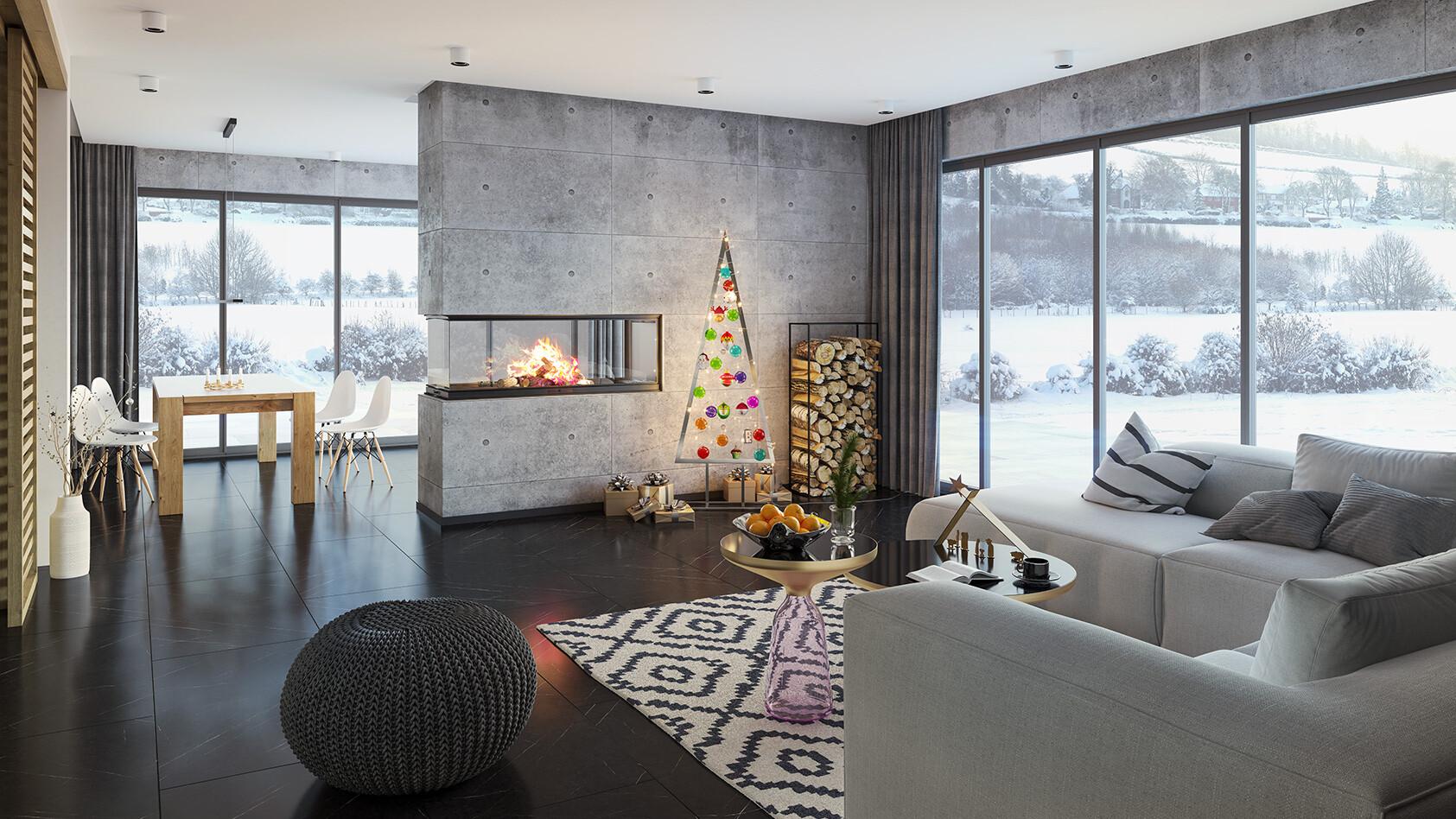 Das Weihnachtliche Wohnzimmer Inspirationen Und Ideen Cairo Ch