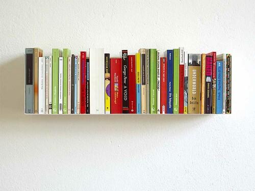 Étagère livres de poche/DVD Linea 1