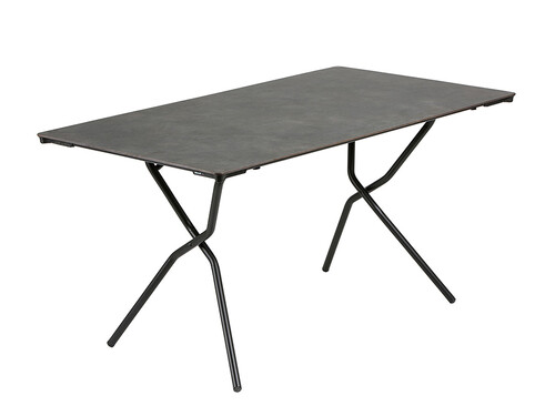 Table pliante Anytime 68 x 64 cm   noir