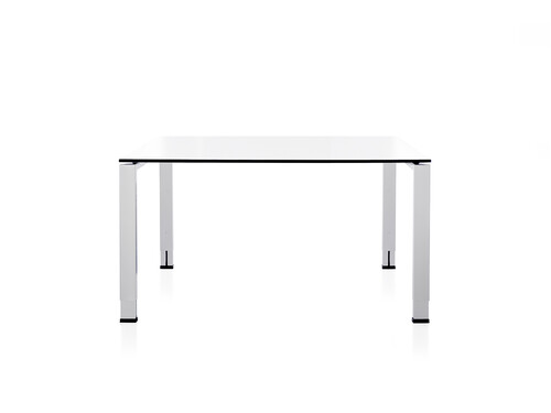 Table de travail Icon L 120 cm, P 80 cm | blanc premium