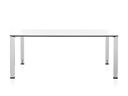 Table de travail Icon L 120 cm, P 80 cm | blanc premium