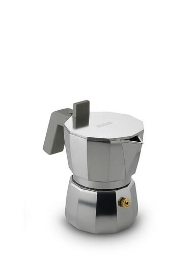 Cafetière à expresso italienne Moka pour 1 tasse | aluminium