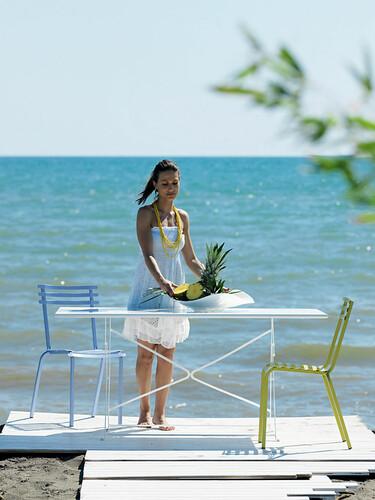 Table pliante Flower