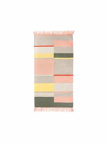 Tapis d'intérieur et d'extérieur Unique 92 x 172 cm | rose