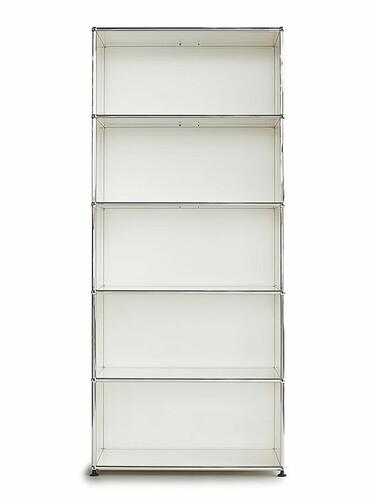 Etagère USM 5 étages | blanc pur