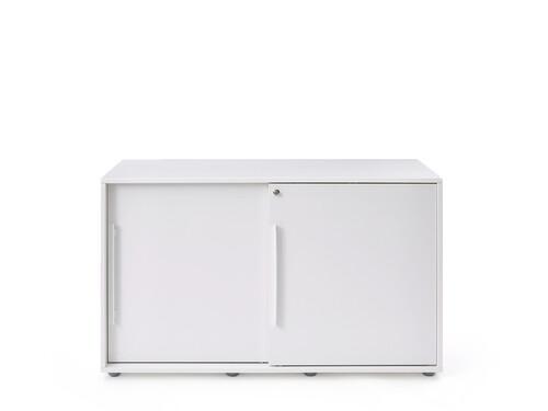 Meuble avec portes coulissantes Armadio Sideboard à portes coulissantes | blanc