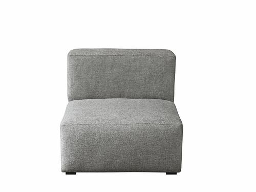 Eléments de Canapé Mags module de canapé, sans accoudoir | chiné gris
