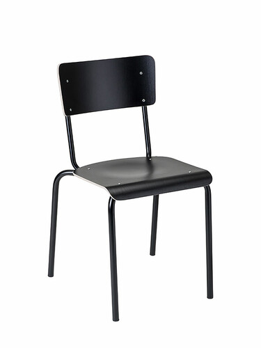 Chaise empilable College