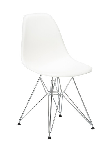 Chaise Eames Plastic Side Chair DSR