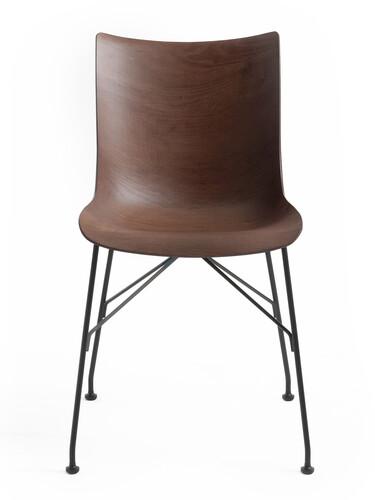 Chaise Wood P/Wood | bois de hêtre, foncé