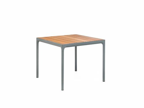 Table Four L 90 cm   structure : gris foncé