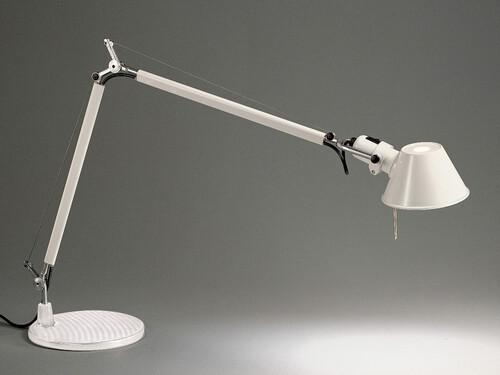 Lampe de table Tolomeo Tavolo sans ampoule | aluminium, blanc