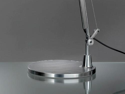 Tolomeo Tavolo socle, aluminium
