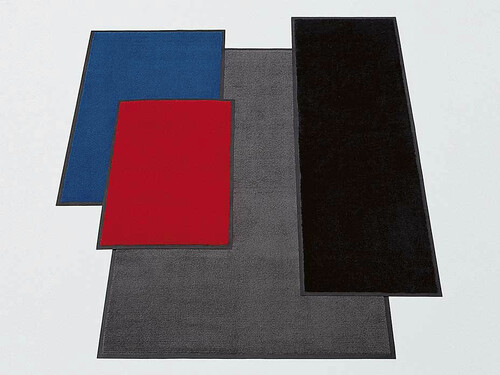 Paillasson Wash & Dry H 0,6 cm, L 90 cm, P 60 cm   bleu marine
