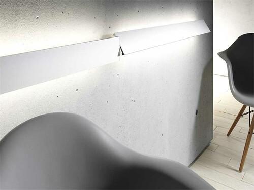 Leuchte mit Metallblende GL 8 ohne LED-Weißadaption | Breite 90 cm | aluminiumfarbig