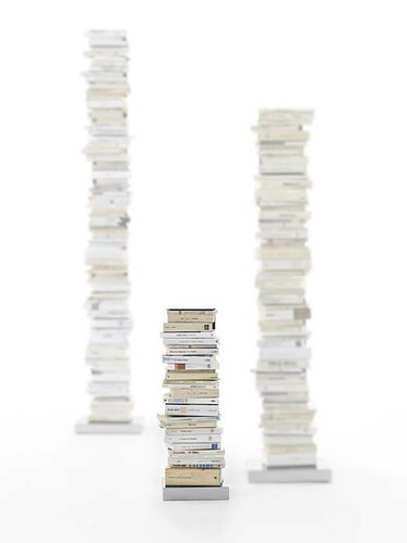Büchersäule Ptolomeo