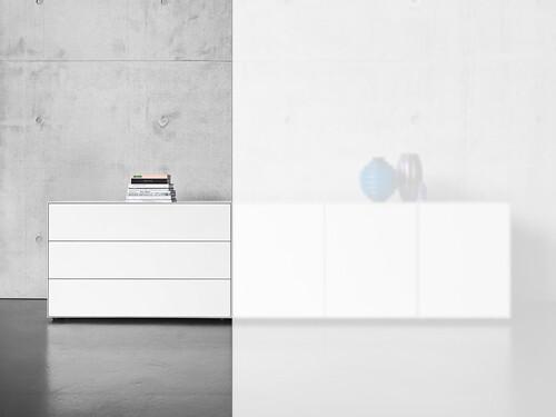 Schubkasten- oder Türbox Nex Pur Box Schubkasten-Box mit 3 Schüben | weiß