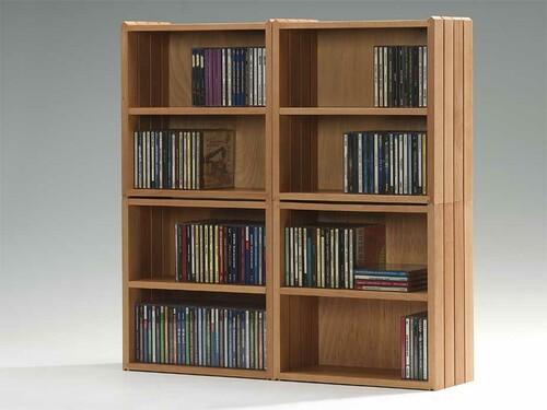 Stapelbox für CDs