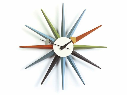 Wanduhr Sunburst Clock