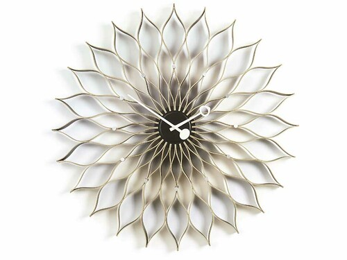 Wanduhr Sunflower Clock