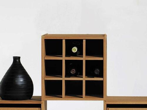 Weineinsatz für Stapelbox