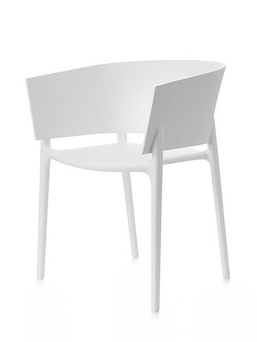Stuhl Africa Armlehnstuhl | weiß