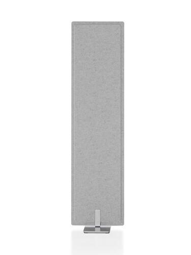 Akustik-Trennwand Pet-Port 41 cm | hellgrau