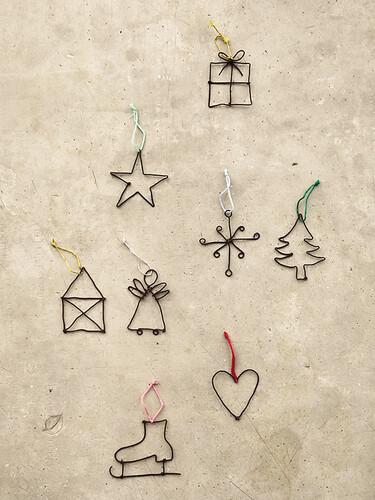 Anhänger Kleine Weihnachtsgrüße