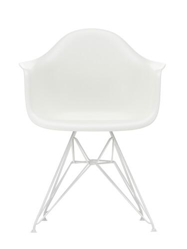 Armlehnstuhl Eames Plastic Armchair DAR weiß beschichtet | weiß
