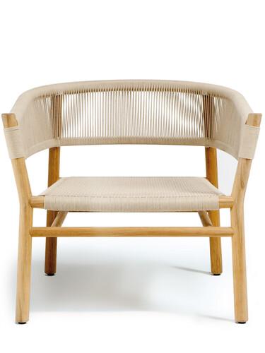 Armlehnstuhl Kilt Sessel | Teak, natur/sandfarben