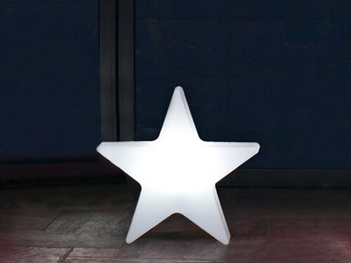 Außenleuchte Shining Star Ø 40 cm   weiß