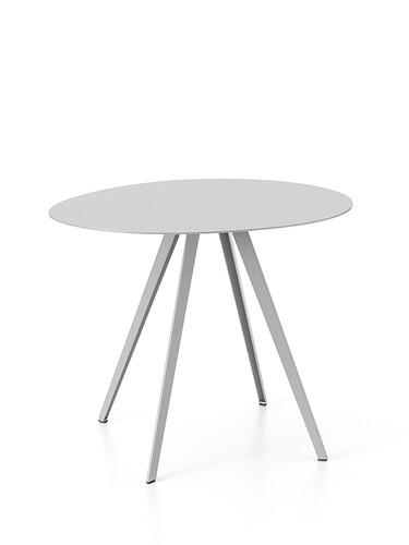 Beistelltisch Agorà 40 cm | aluminiumfarben