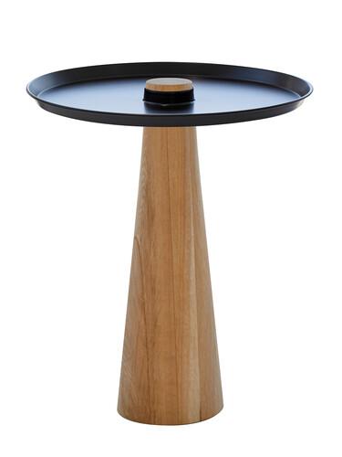 Beistelltisch W-Move Table Fuß: Eiche | eiche schwarz