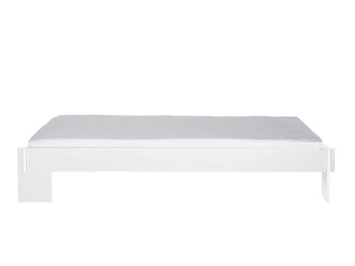 Bettgestell Siebenschläfer Ohne Kopfteil   Liegefläche: 140 x 200 cm   FU weiß