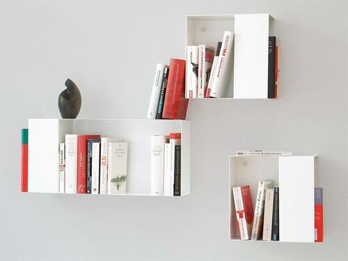 Bücherregal Box Box S | weiß