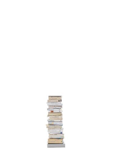 Büchersäule Ptolomeo Büchersäule - 5 Ebenen | Stahlblech schwarz