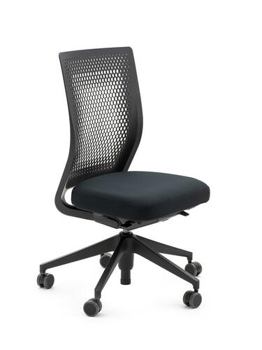 Bürodrehstuhl ID Air ohne Armlehnen   schwarz