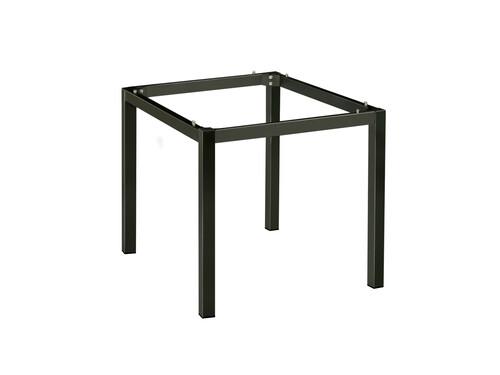 Cairo-Tischgestell 90 x 90 cm Aluminium, Anthrazit pulverbeschichtet