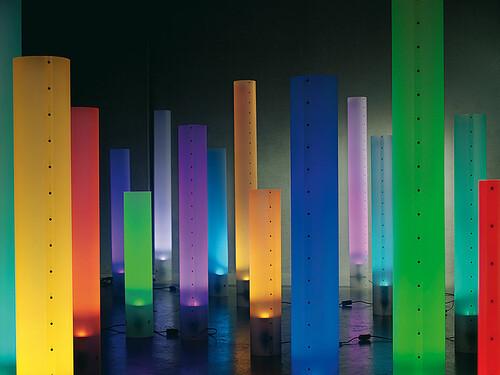 Stehleuchte Chameledeon Color LED Höhe 71 cm | transluzent