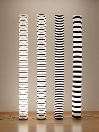 Stehleuchte Chameledeon Stripes 1 Halogen | filigran