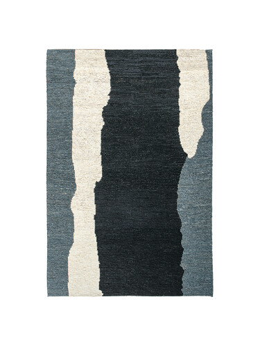 Teppich Clair Obscure B 170 x L 240 cm | schwarz/weiß