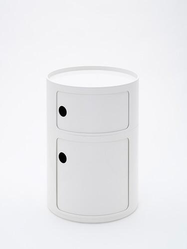 Container Componibili 1 kleines und 1 großes Fach | weiß