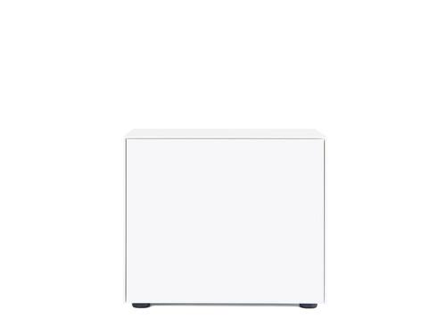 Container F10 Go H 52 cm | 1 Tür (Türanschlag links) | weiß