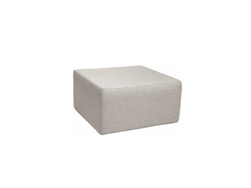 Outdoor Hocker Domino Outdoor Hocker, L 80 cm | grau