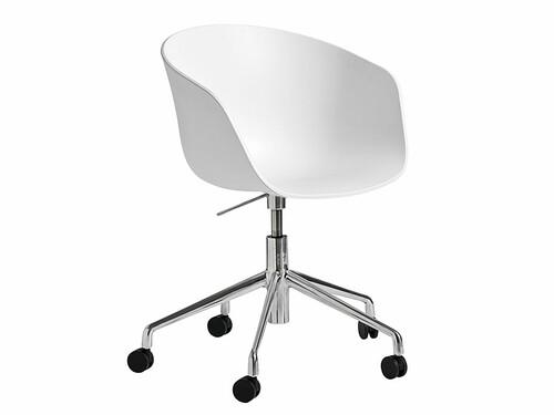 Drehstuhl About A Chair AAC52 AAC52 | weiß/poliert