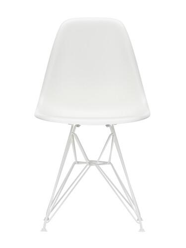 Stuhl Eames Plastic Side Chair DSR weiß beschichtet | weiß weiß