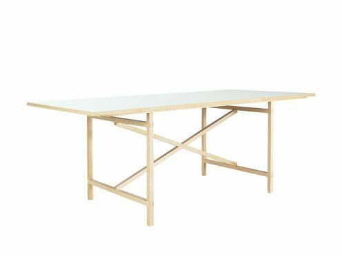 Tisch Egon 90 x 160 cm | Platte weiß