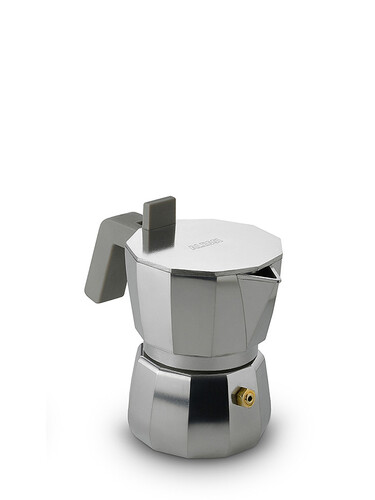 Espressokocher Moka für 1 Tasse | alu